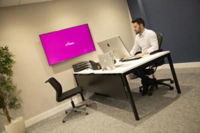 Office interior photograph