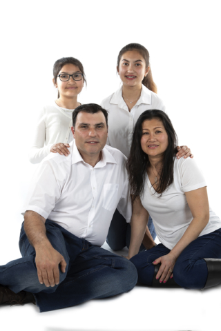 Family, Portrait, group