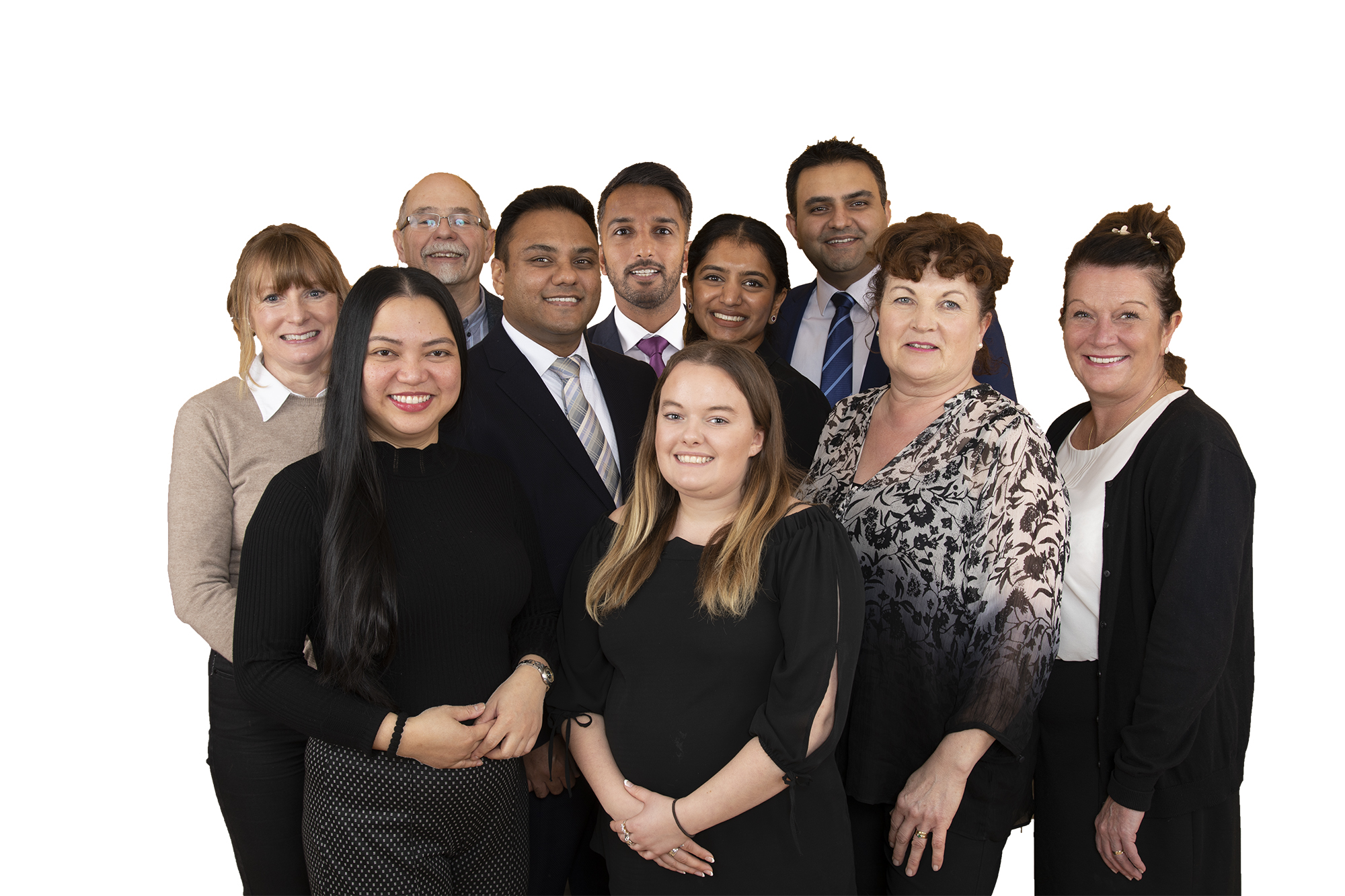 Business team photograph